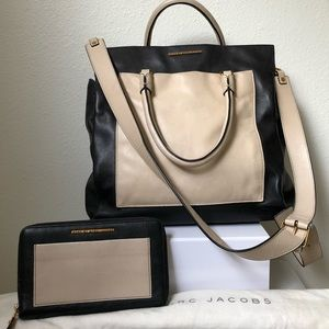 Marc by Marc Jacobs Shoulder Bag + Wallet Set